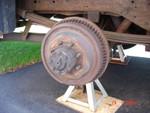 BIG rear brake drums.