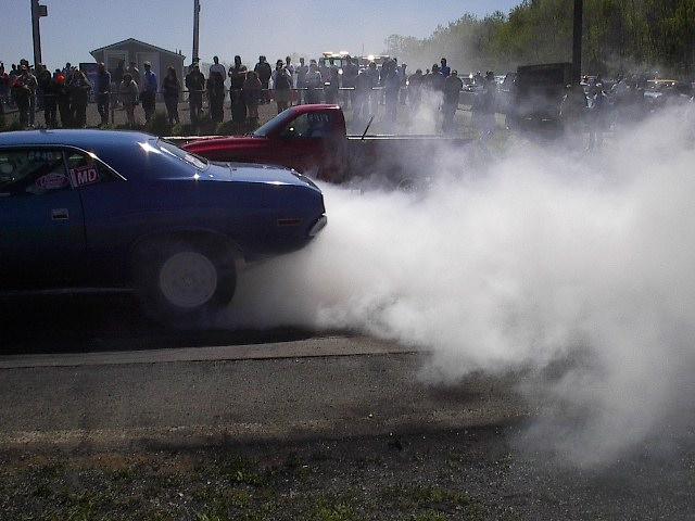 Burn out, Baby! Smoke em!