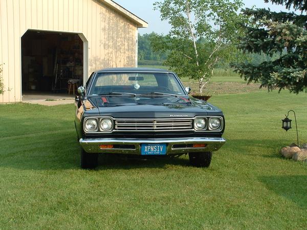 Christine all ready to go 6-8-03