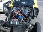 Same car engine shot, car weighs 2000 lbs