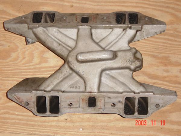 Aluminum Torker II intake manifold for B engine