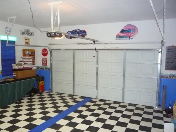 Gallery 2 Garage Door Track Conversion And Side Mounted Opener