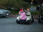 Deanna gets a ride